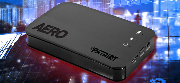 Patriot Aero Wireless External Hard Drive