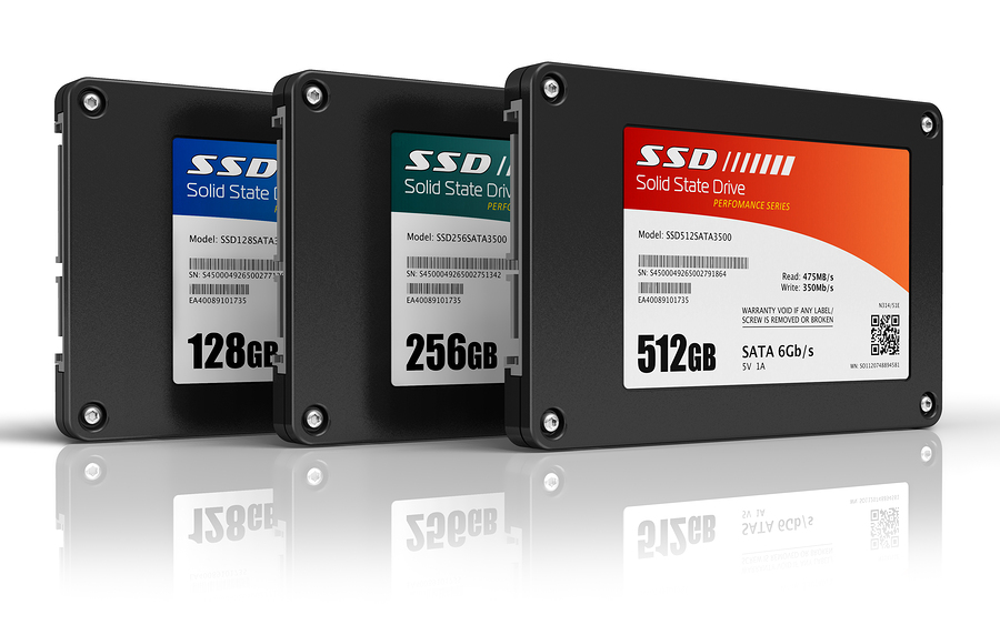 Set of solid state drives