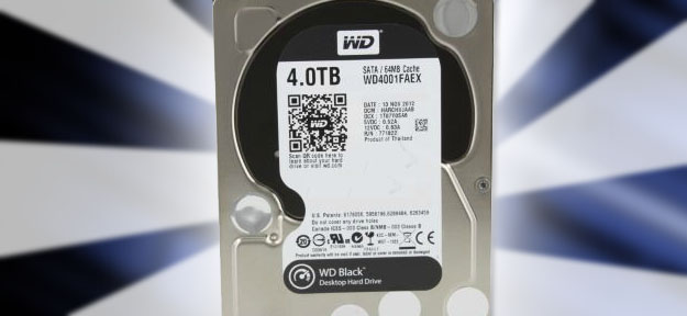 Western Digital Black 4TB