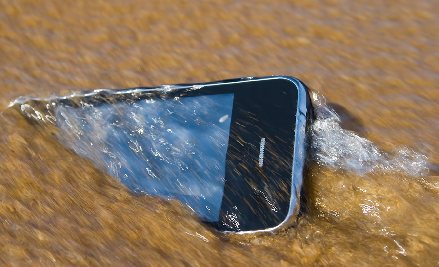 Wet Mobile Device