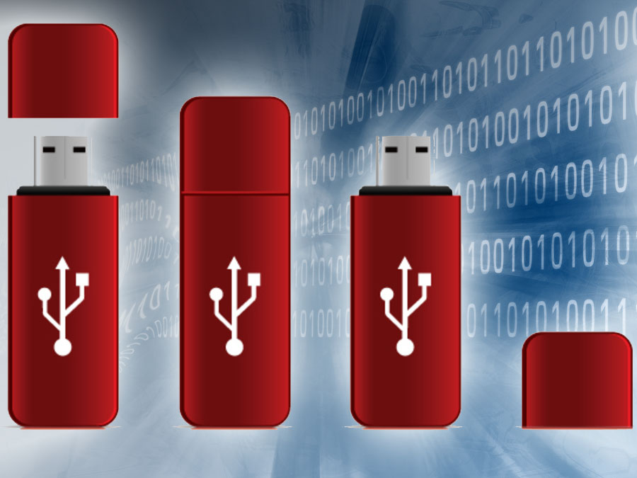 Secure USB Flash Drives