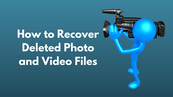 How to recover deleted video files