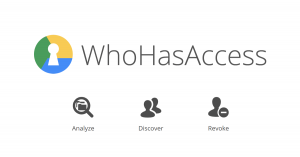WhoHasAccess is a web-based tool to see who has access to your Google Drive
