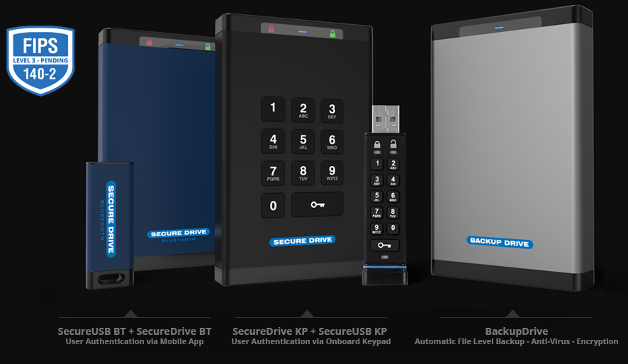 SecureDrive, our new self-encrypting hard drive offer top security and top performance