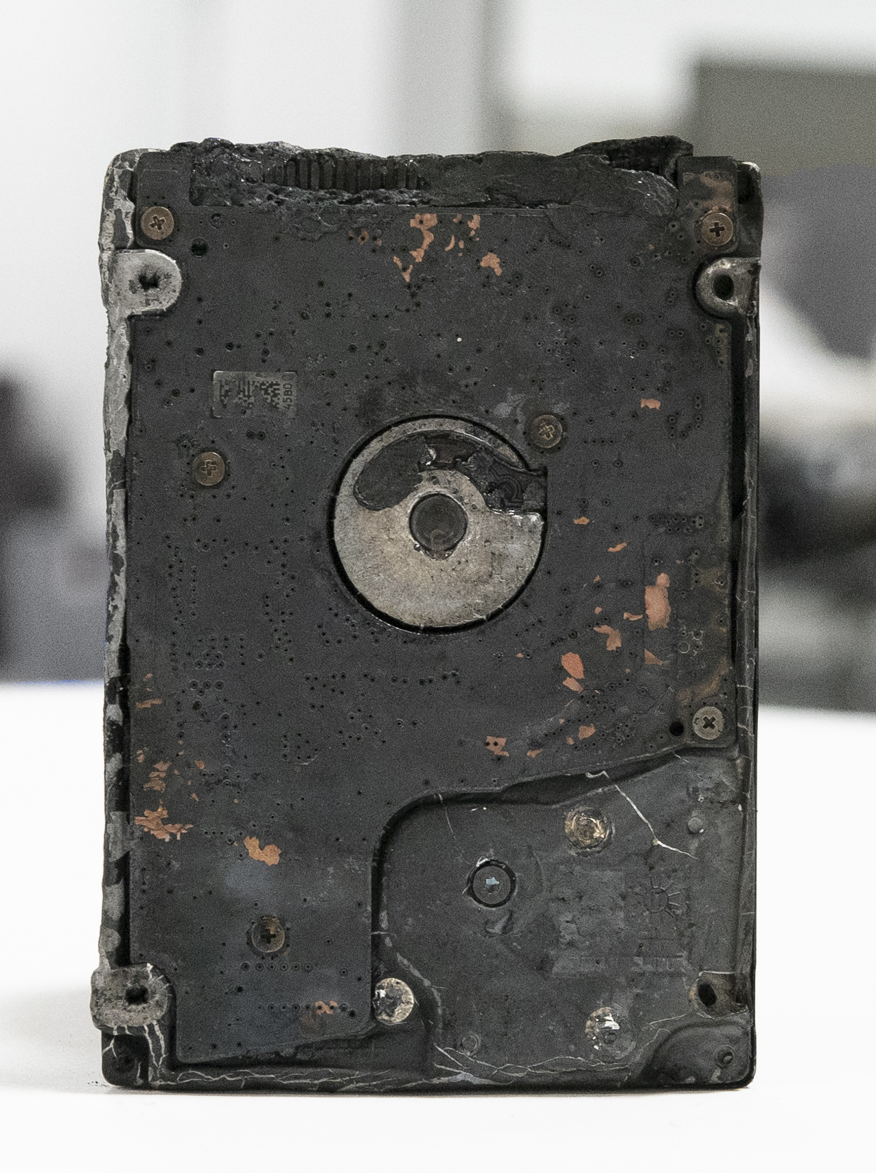 Fire Damage Hard Drive