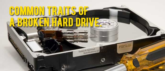 Common Broken Hard Drive Failure Scenarios
