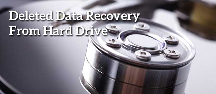 Deleted Data Recovery for Hard Drives