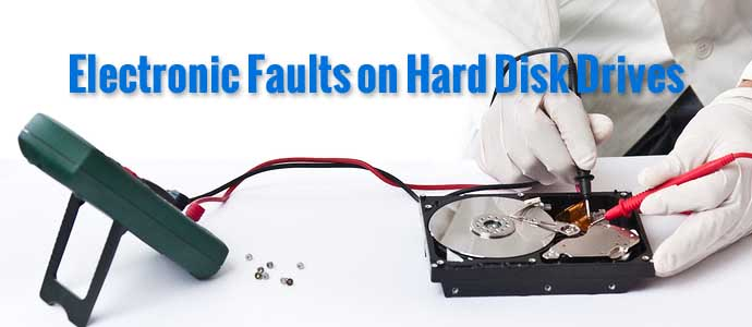 Electronic Faults on Hard Disk Drives