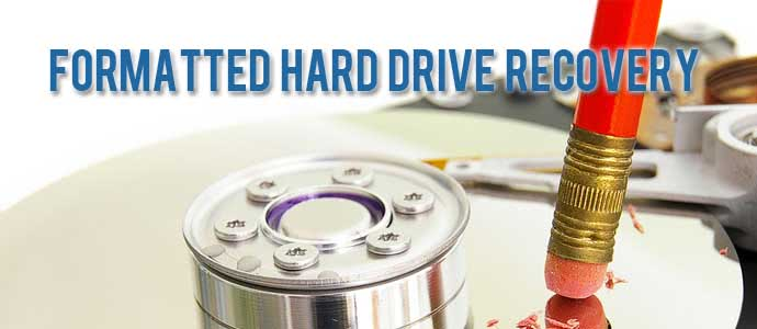 Formatted Hard Drive Recovery Services