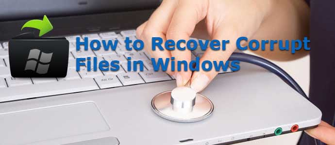 how to recover photo video files from corrupted/damaged