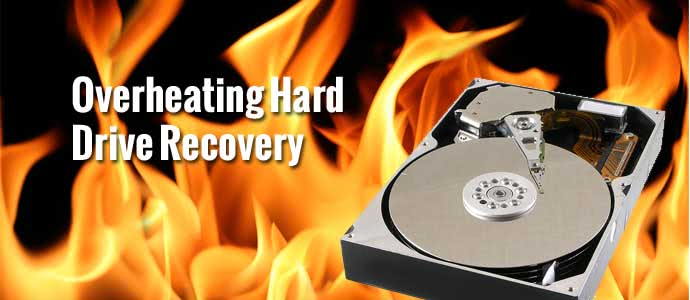 Overheating Hard Drive Recovery
