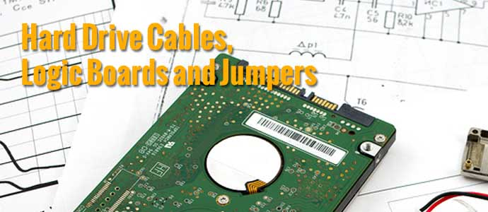 Hard Drive Cables, Logic Boards and Jumpers