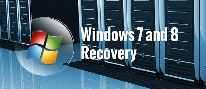 Windows 7 and 8 Data Recovery Services