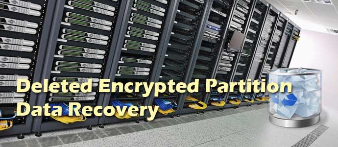 Deleted Encrypted Partition Data Recovery