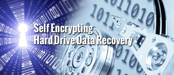 Self Encrypting Hard Drive Data Recovery
