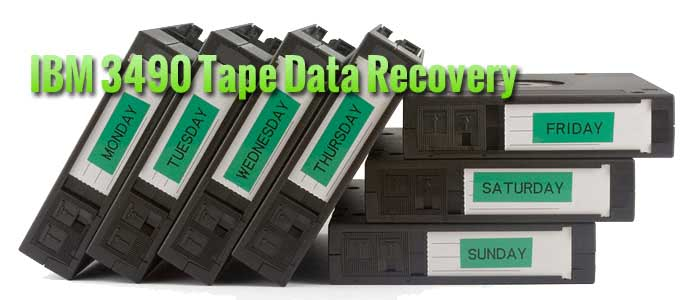 IBM 3490 Tape Data Recovery