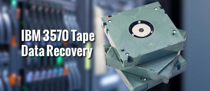 IBM 3570 Tape Data Recovery