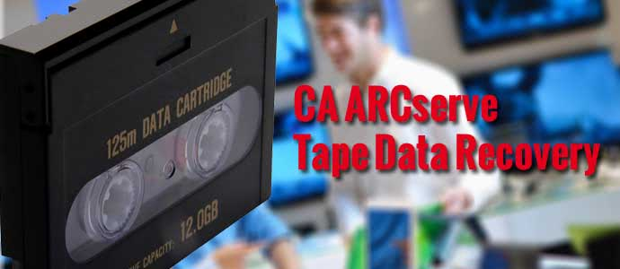 CA ARCserve Tape Data Recovery
