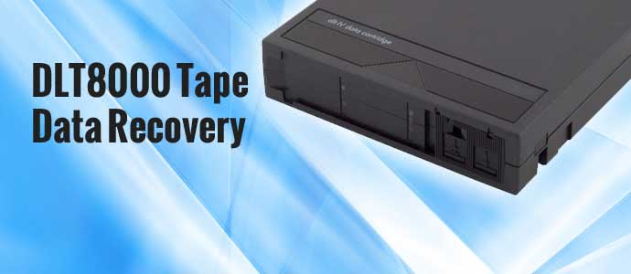 Secure Data Recovery Data Tape