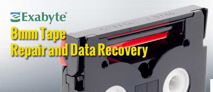 Exabyte 8mm Tape Data Recovery