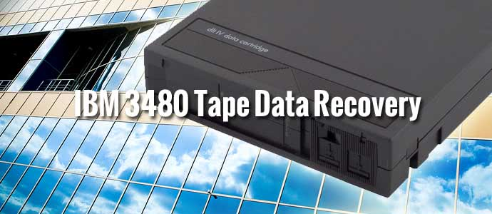 IBM 3480 Tape Data Recovery