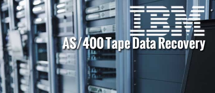 IBM AS/400 Tape Data Recovery