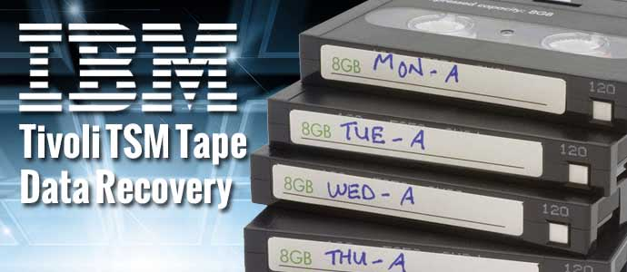 IBM Tivoli TSM Tape Data Recovery