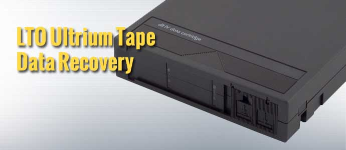 LTO Ultrium Tape Data Recovery