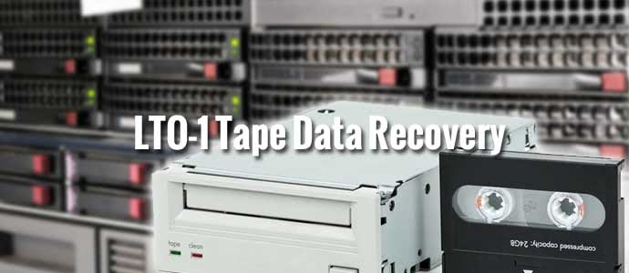 LTO-1 Tape Data Recovery