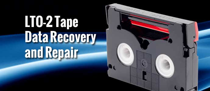 LTO-2 Tape Data Recovery