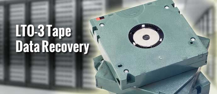 LTO-3 Tape Data Recovery