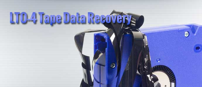 LTO-4 Tape Data Recovery