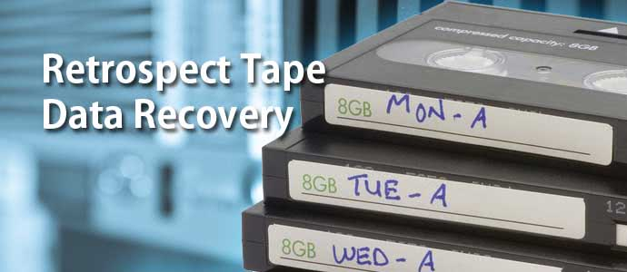 Retrospect Tape Data Recovery