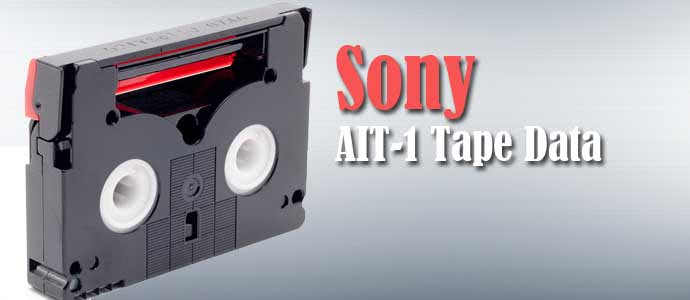 Sony AIT-1 Tape Data Recovery