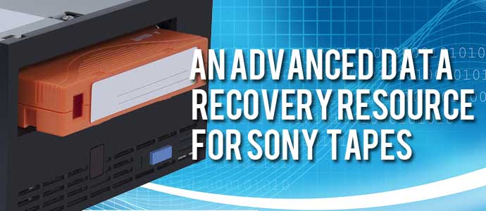 Sony Tape Data Recovery