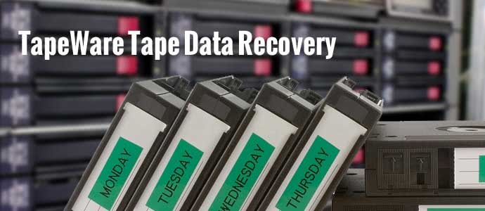 TapeWare Tape Data Recovery