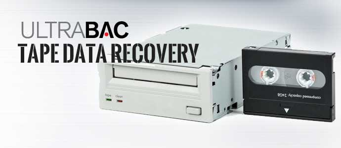 UltraBac Tape Data Recovery