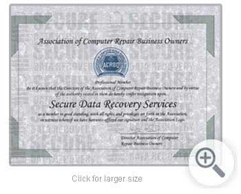 Certified Member of ACRBO Certification
