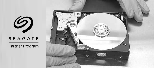 Seagate Registered Partner - Secure Data Recovery Services